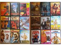 JOB LOT OF 125 DVD'S MOVIE FILM TV BERGAIN