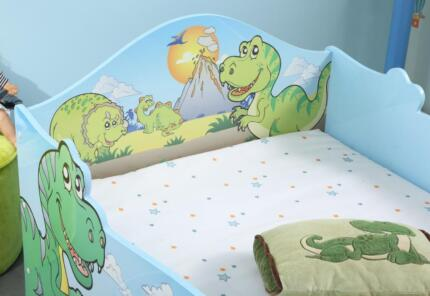 Dino bed! New:Unique 4 dino fans! Suits FULL SIZE single mattress Brighton Holdfast Bay Preview