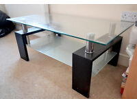 Glass Coffee Table for sale.
