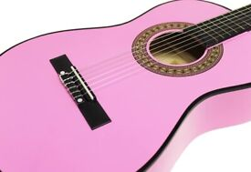 Martin Smith W-560 3/4 Size 36-inch Classical Guitar - Pink