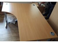 2 MATCHING OFFICE TABLES