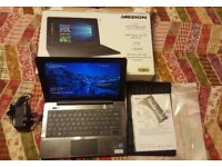 BRAND NEW & BOXED: Windows 10, Full HD, Medion Akoya Notebook PC. Slimline & Lightweight, with HDMI