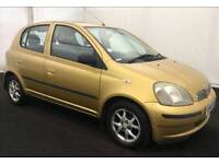 TOYOTAYARIS 5DOOR AUTOMATIC 12MONTH MOT 8SERVICES FROM TOYOTA EXCELLENT CONDITION HPI CLEAR