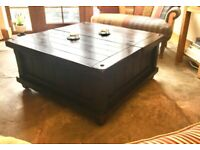 Lounge table with MASSIVE storage