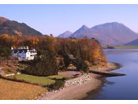 General Assistant for a busy Highland Hotel near Fort William