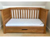 Mamas & Papas Ocean Cot Bed in Golden Oak
