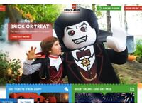 2 Adult Legoland Tickets for sale
