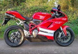 ***DEPOSIT TAKEN*** DUCATI 848 2008 08 RED Termignoni exhaust Ducati Full service history
