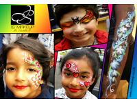Professional Face Painter in Birmingham ✷ Walsall ☠ Body Art ☺ Face Painting ❀ Birthdays ❄ Events ♛