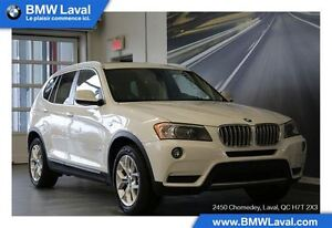 2013 BMW X3 xDrive28i GROUPE DE LUXE, GROUPE TECHNOLOGIE, NAVI