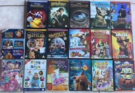 Selection of children's DVD £1 each 0r £15 the lot