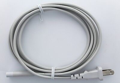 White VOLEX AC Power Cord 7A / 125V For Apple TV Mac Mini Time Capsule 18awg for sale  Shipping to Canada