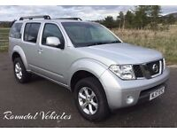 NEW ARRIVAL.. 2007 Nissan Pathfinder sport 2.5 dci 7 seat 4x4, met silver mot Oct 17, hist LOVELY !!