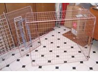 Extending Wire Fireguard and Assorted Wire Racks