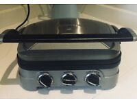 Cusinart toasted sandwich maker, grill and griddle £30
