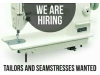 Experienced Seamstress/Tailor needed to start ASAP in East London