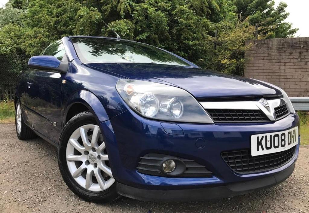 Vauxhall Astra Convertible Diesel Low Mileage Long Mot With No