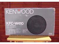 Kenwood KFC-W410 400w Subwoofer Car Speakers (new in box)