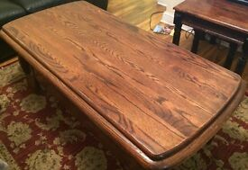 Dutch Wood Coffee Table