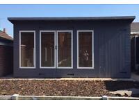 16ft x 8ft summerhouse/shed/ office/ garden building