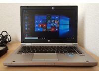 HP Elitebook intel core i5-2520M Laptop,4GB DDR3 RAM,Wifi/Webcam,Windows 10 64 Bit,Superfast