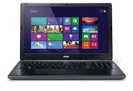 ACER E1-570, 15.6'Laptop, i3 3rd gen, 4GB RAM, 750GB HDD