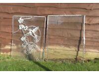 FREE : glass pane with Hummingbird