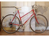 Vintage Peugeot Monte Carlo Ladies Red Road Bicycle, Town Bike
