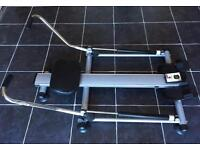 Kirkmuirhill. Carl Lewis hydraulic compact resistance rowing machine. equipment gym fitness
