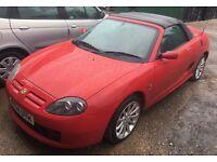MG sports car