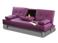 New 'Limitless Base' Best Selling Cinema Faux Leather Sofabed