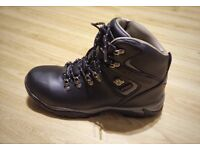 Karrimor Ladies Hiking Boots BLACK (Size UK 8 US 9 EUR 42) with Waterproof Lining and Leather Upper