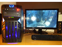 Gaming PC i5 4 x 3.2GHz 16GB RAM GeForce GTX 760 2GB 256bit 1TB HDD W10 perfect working condition