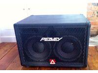 Peavey 210 TVX Bass speaker cabinet.