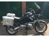 SOLD! BMW R1150GS inc adventure panniers & frames project, spares or repair