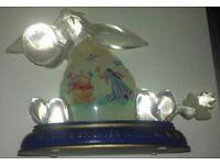 Limited Edition Bradford Exchange glass Eeyore figurine.