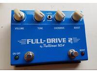 Fulltone Fulldrive 2, overdrive pedal, good condition
