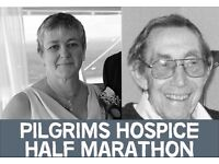 Pilgrims Hospice Half Marathon in memory of Sarah Holness and Wilfred Robus