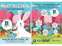 The Fairy Tale Fair - Easter Craft Fair in aid of St Barnabas - Worthing Charmandean