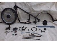 BSA Bantam D1 rigid frame and parts