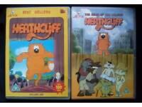 2 Classic Heathcliff DVD's