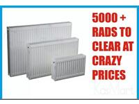 5000 radiators to clear singles and doubles