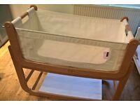 Snuz pod 3 in 1 crib, with mattress and mattress protector