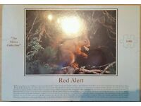 Red Alert 1000 Piece Jigsaw (house of Puzzles)