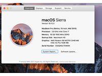 15-inch MacBook Pro with Retina display 2015