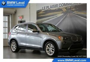 2013 BMW X3 xDrive28i GROUPE DE LUXE, TOIT PANORAMIQUE