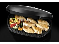 George Foreman 10 portion griddle grill and drip tray