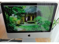 iMac 20 inch, 8GB RAM, 500GB Hard Drive. Excellent Condition.