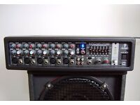 Behringer 180w Mixer amp,with Digital efx and feedback Detectio