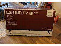 Brand New LG 43 inch UHD TV 43UN71